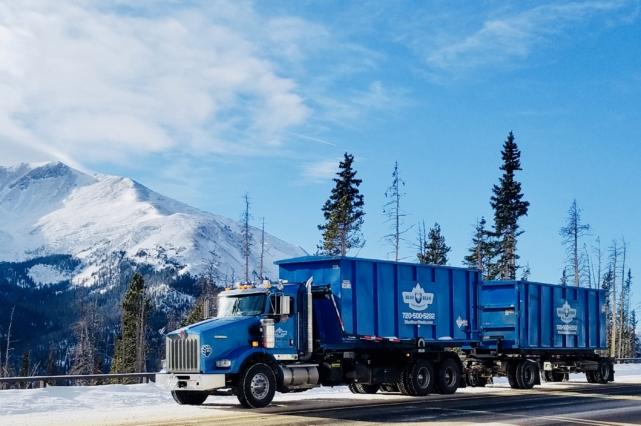 Blue Bear Dumpster Rental in Colorado