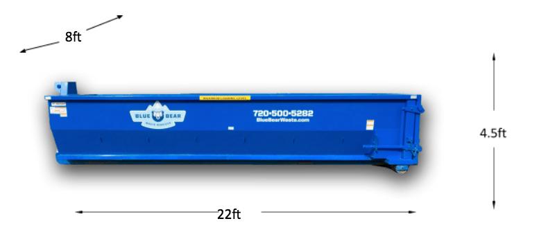 20 Yard Dumpster Rental - Blue Bear Waste