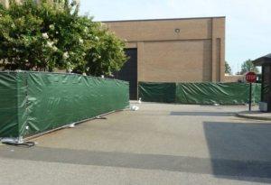 Temporary Fence Rental - Blue Bear Waste-2